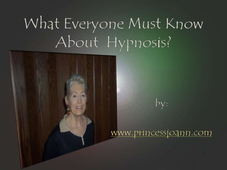 What everyone must know about  hypnosis