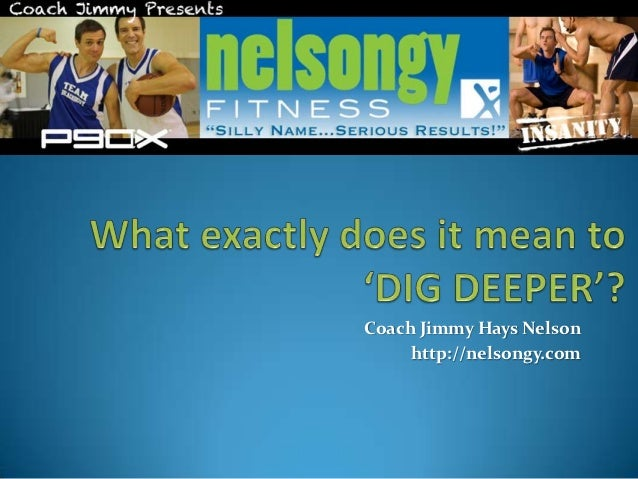 What Exactly Does it Mean to Dig Deeper