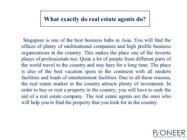 Real Estate qualities of a good research topic