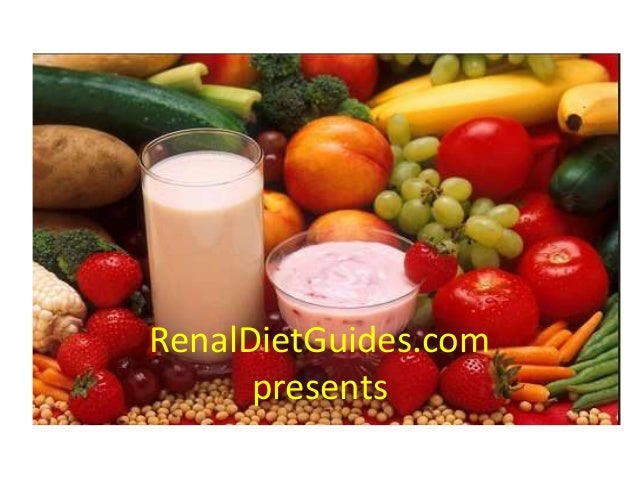 What exactly is a renal diet?