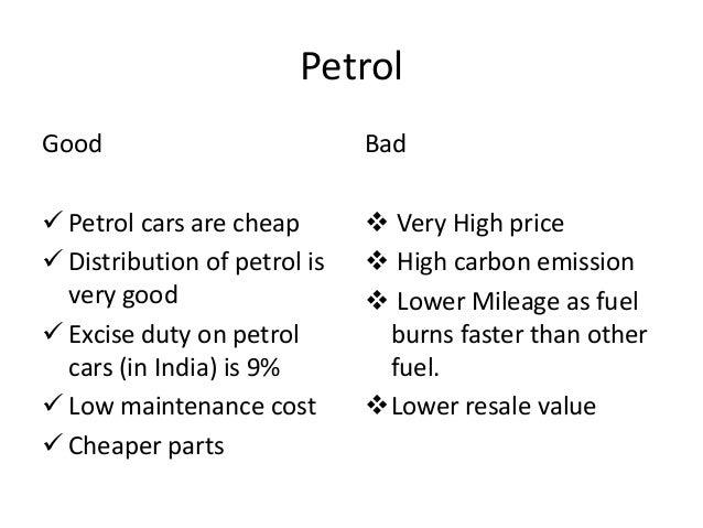 Bad Cars in India Petrol Good Bad  Petrol Cars