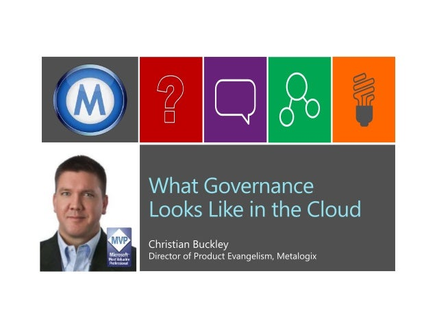 What Governance Looks Like in the Cloud