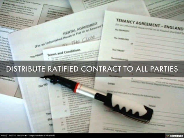 What Happens After Contract Ratification