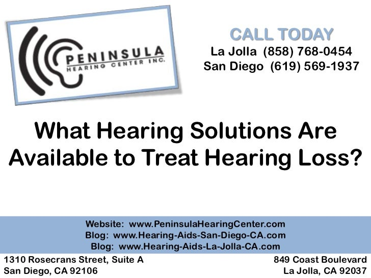 What Hearing Solutions Are Available to Treat Hearing Loss?