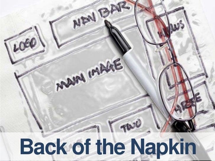 Back of the Napkin<br />