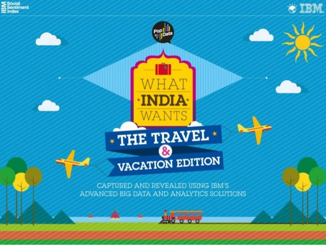 What India Wants - The Travel and Vacation Edition