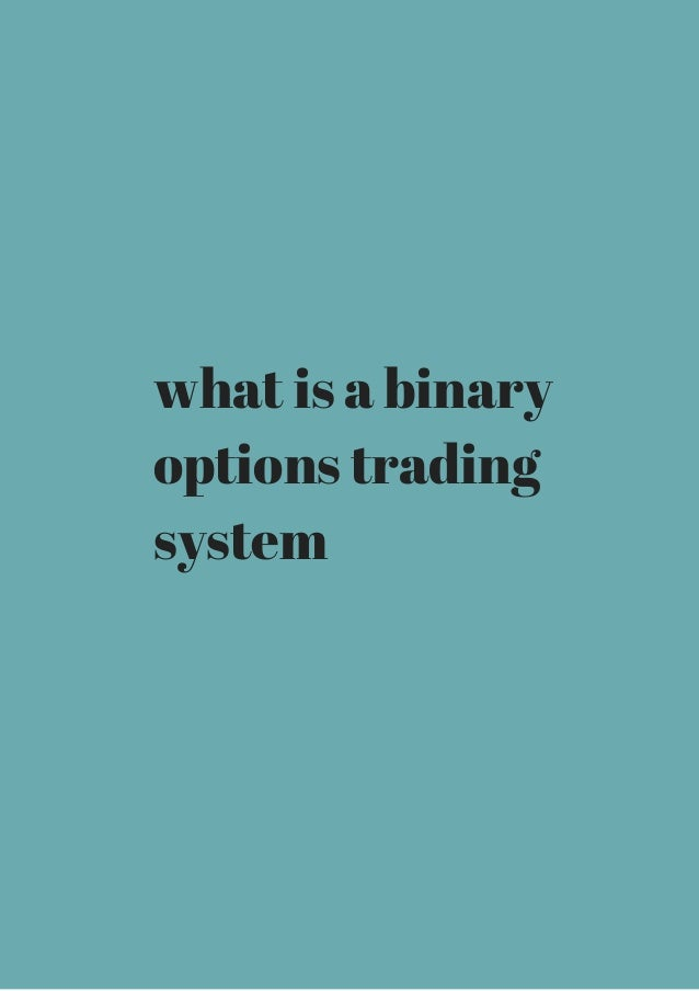 What is a option trading
