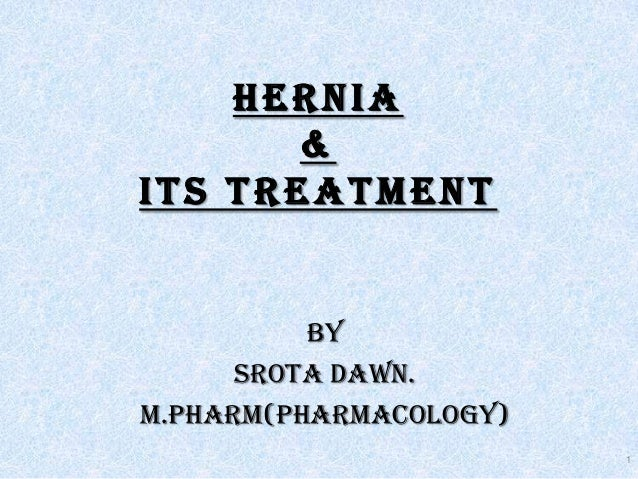 What is a HERNIA by SROTA dawn