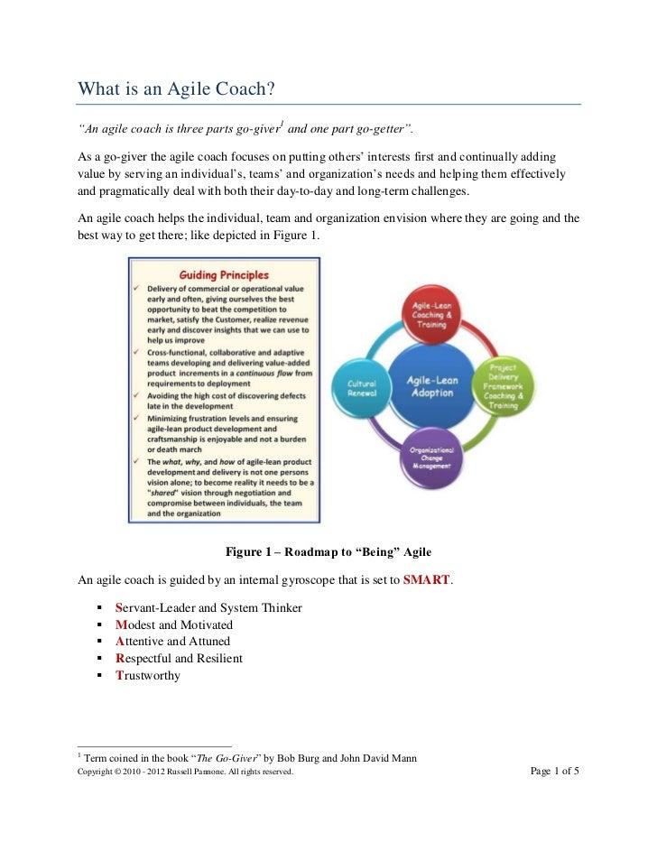 What is an agile coach