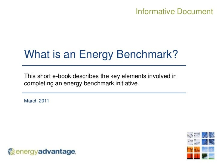 What is an Energy Benchmark?<br />This short e-book describes the key elements involved in completing an energy benchmark ...