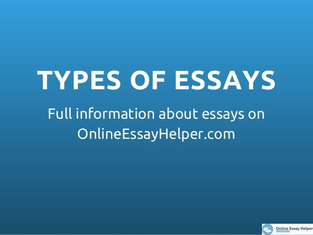 College Essay Papers  Types Of Essays A Level English Essay Structure also Essay Proposal Outline Four Main Types Of Essays Help Writing Essay Paper