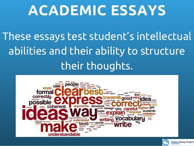 What are the two main types of essays