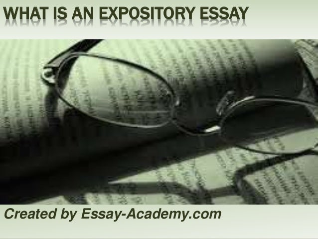 Expository Essay Structure Outline