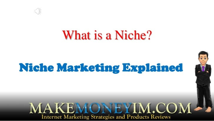 What is niche marketing? how do you define a niche? what is niche product?