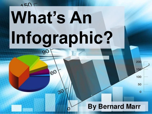 What's An Infographic? By Bernard Marr