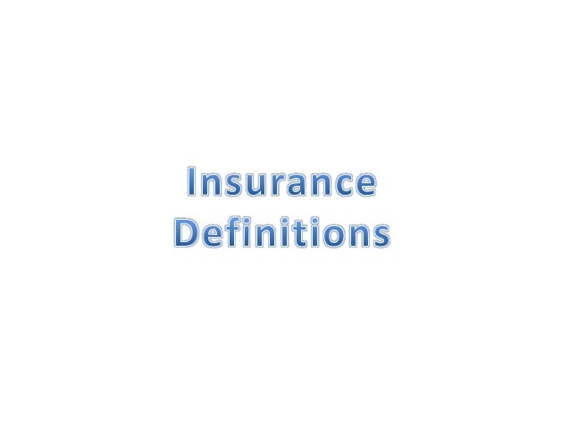 What is Insurance?• Insurance is a form of risk management  primarily used to hedge against the risk of a  contingent, unc...