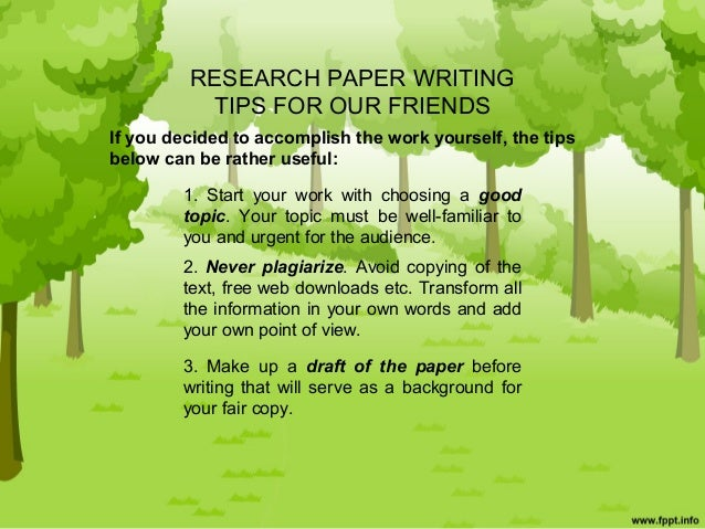 What is a research paper?