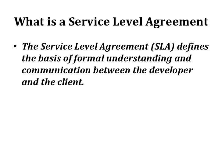 Servicelevel agreement  Wikipedia