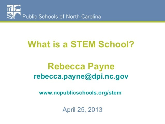 What is a STEM School?