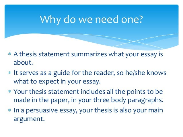 Essay Papers Examples Writing The Thesis Statement  Essay Writing My First Day In Secondary  School Thesis Statement For Education Essay also What Is A Thesis For An Essay Writing A Three Point Thesis Statement  How To Write A Three  Business Essay Example