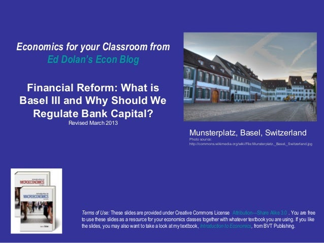 What is basel iii and why should we regulate bank capital