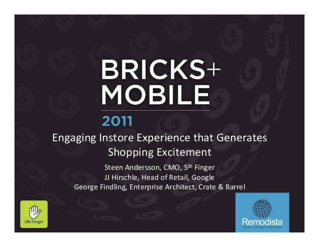 Engaging&Instore&Experience&that&Generates&           Shopping&Excitement&                              &            Steen...