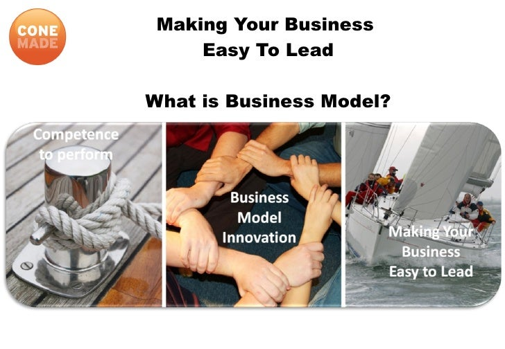 What Is Business Model  Cone Advisor