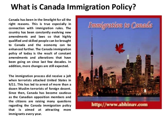Essay On Immigration