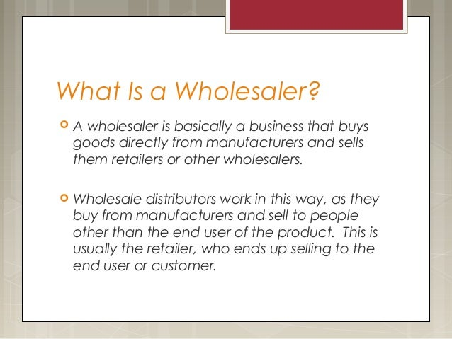 Wholesale  Definition of Wholesale by MerriamWebster