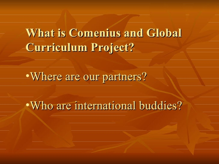 What Is Comenius
