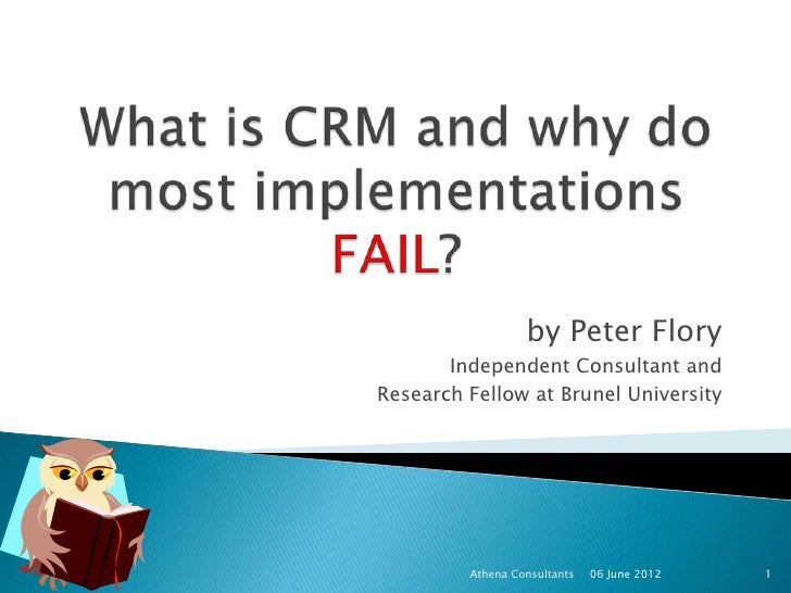 What is crm and why do most implementations fail