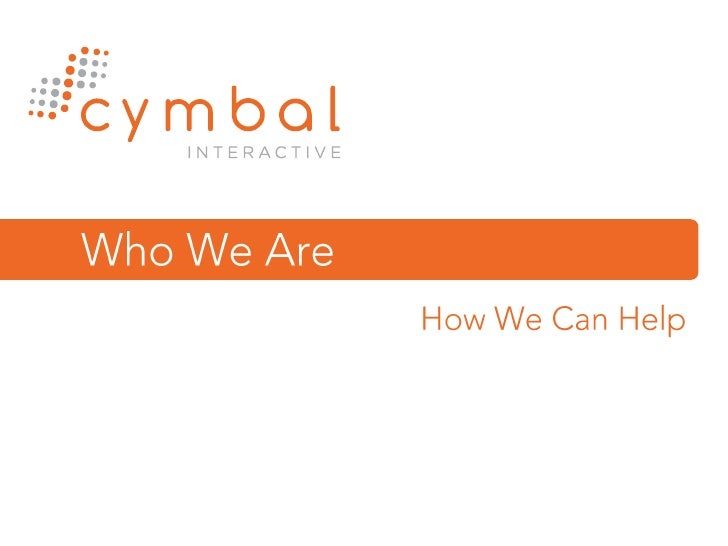 Cymbal Interactive Explained