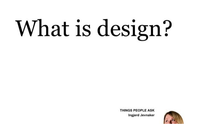 What is design?