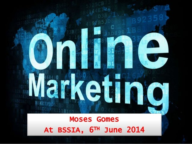 Moses Gomes At BSSIA, 6TH June 2014
