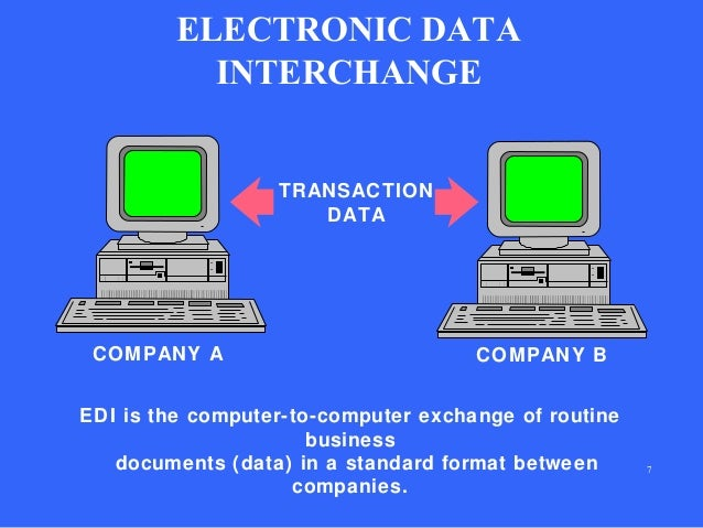 electronic data interchange essay Free essay: electronic data interchange one of the more commonly accepted definitions of electronic data interchange, or edi, has been the.