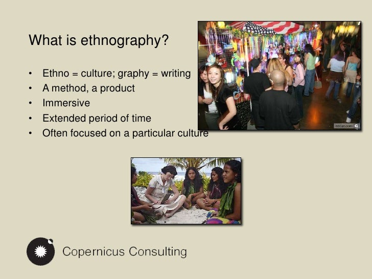 What Is Ethnography