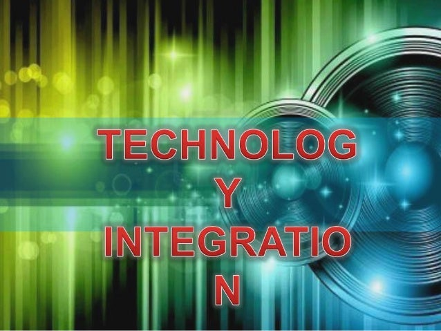 Technology Integration.. is NOT the use of managed instructional software, where a computer delivers content and tracks st...