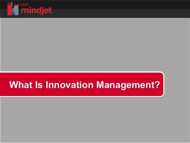 What is Innovation Management?