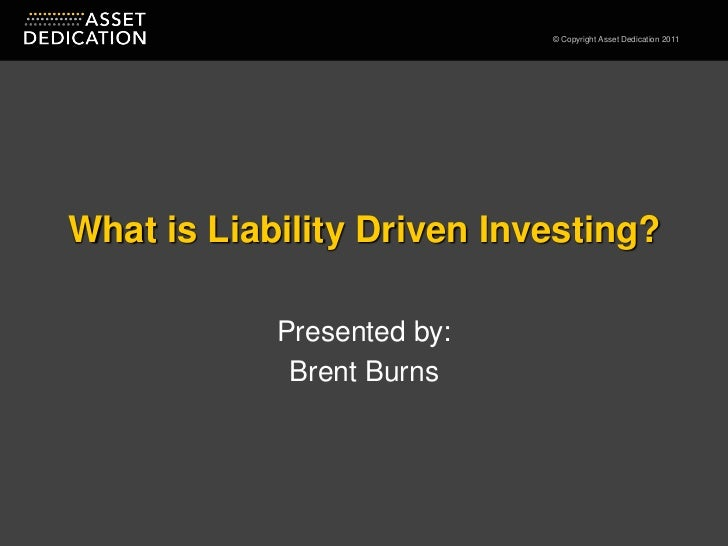 What is Liability Driven Investing - FPA NY 2011