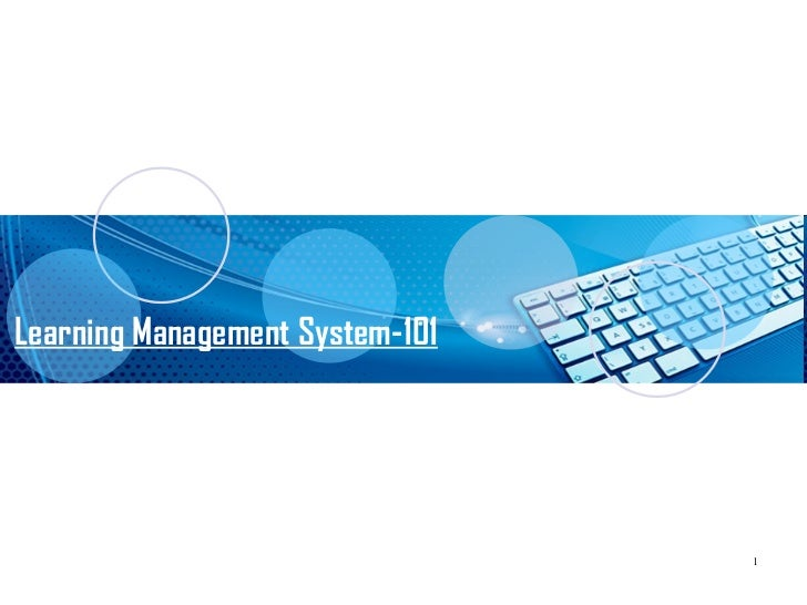 Learning Management System- An Introduction