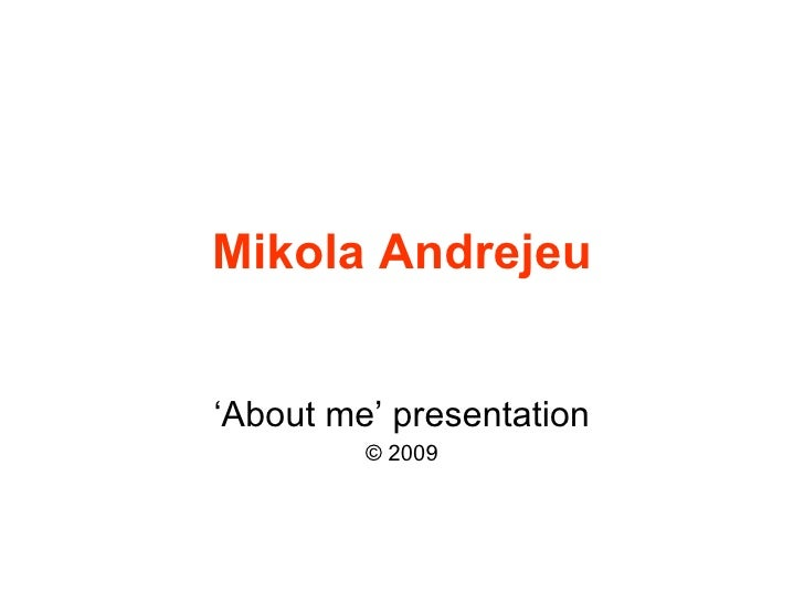 Project Management with Mikola Andrejeu #1
