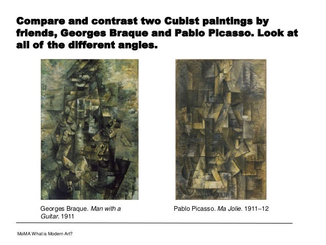 Compare Contrast Paintings Compare And Contrast Two