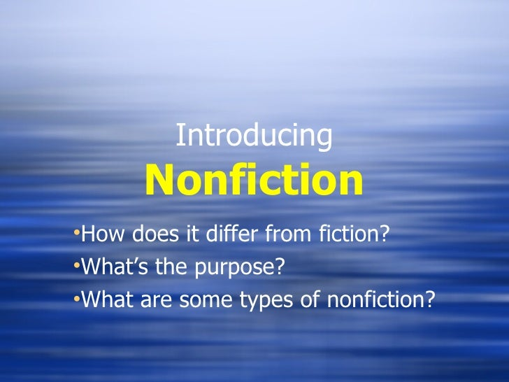 What is nonfiction 2
