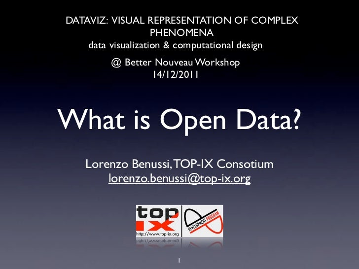 What is opendata