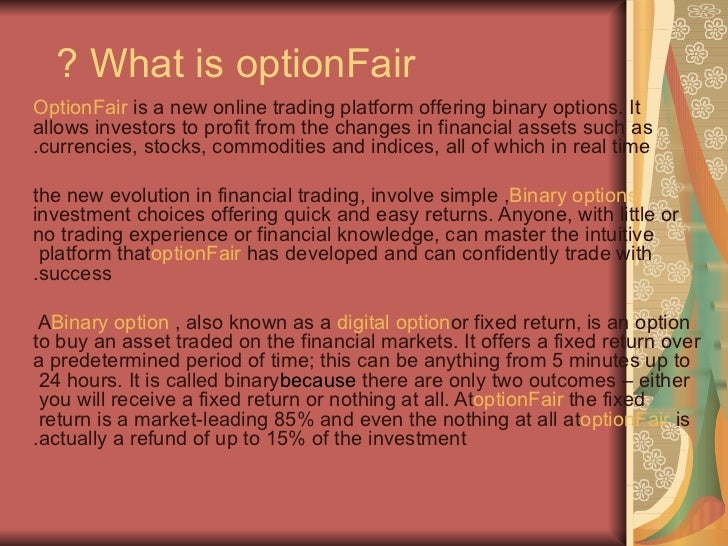 Best binary options brokers in usa