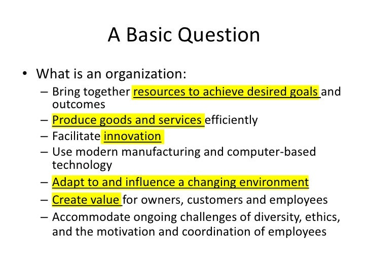 Organization Design 1