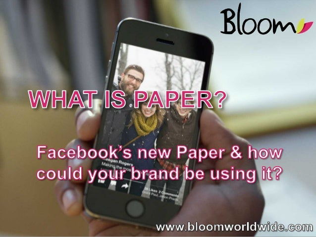 What is Facebook's Paper?
