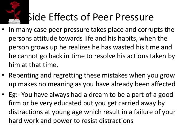 an analysis of peer pressure The powerpoint ppt presentation: peers and peer pressure is the property of its rightful owner do you have powerpoint slides to share if so, share your ppt presentation slides online with powershowcom.