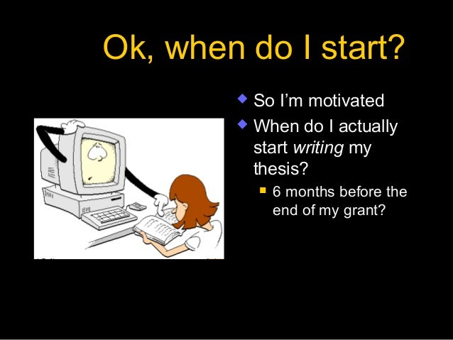 How To Write A Phd Dissertation