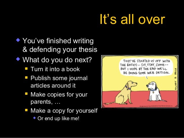 Turn Your MA or PhD Thesis Into a Best Selling Book | Udemy
